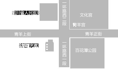 成都曙光男科医院地址